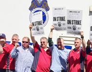 On Strike at Clare Rose