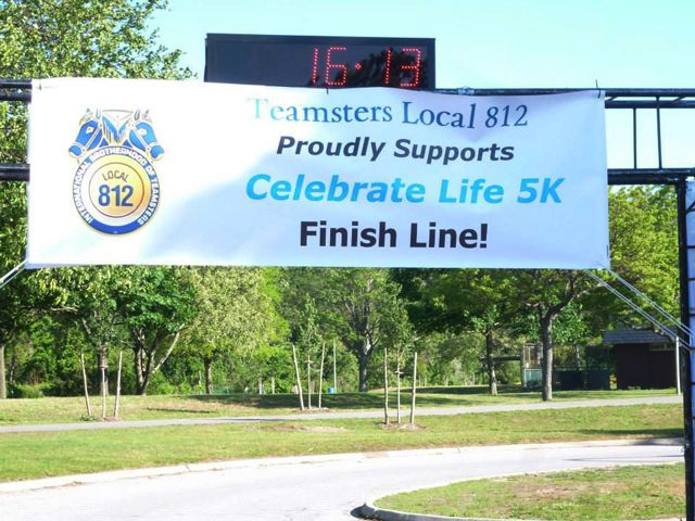 Local 812 at the Finish Line