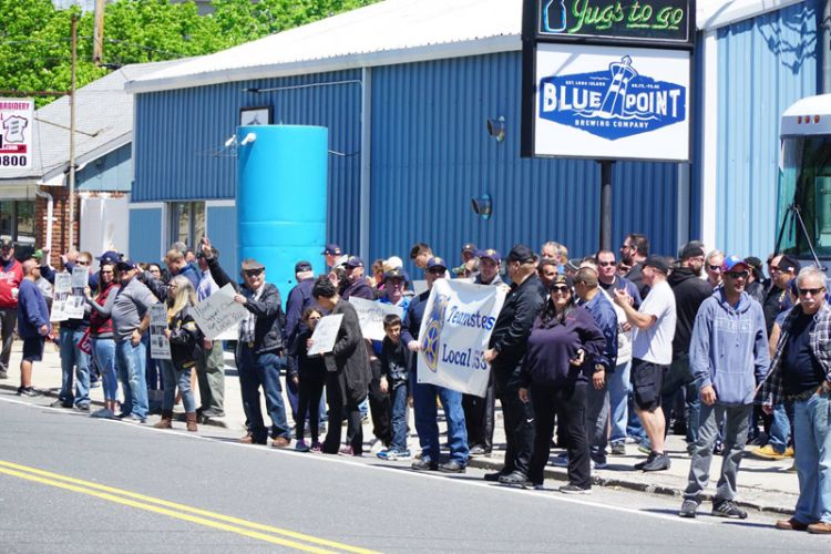 Blue Point Brewery Rally 15